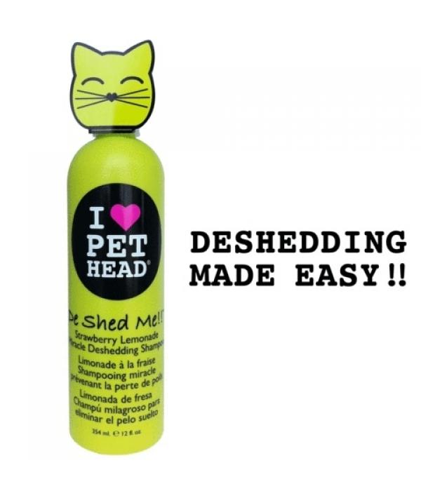 """Шампунь клубнично – лимонадный """"Чудо – линька"""" для линяющих Кошек , без сульфатов и парабенов (DE SHED ME for Cats) PH10131"""