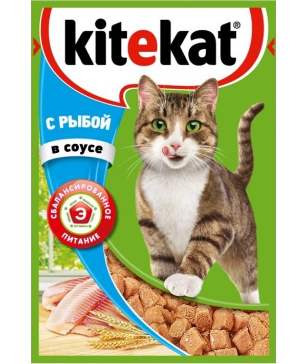 Паучи с рыбой в соусе для кошек 10151306