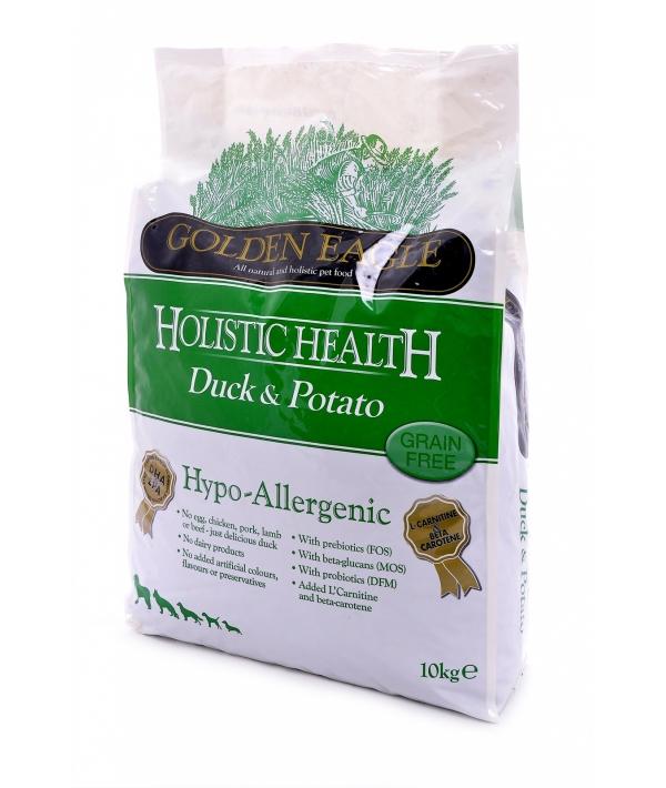 Утка с картошкой беззерновая для собак (Hypo – allergenic Duck&Potato 26/12) 26848