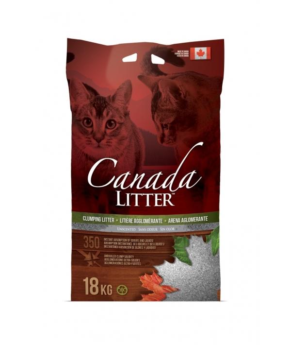 "Канадский комкующийся наполнитель ""Запах на Замке"", без запаха"