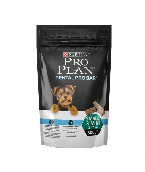Лакомство для здоровых крепких зубов для мелких и миниатюрных пород (Dental Pro Bar Small&Mini) – 12353783