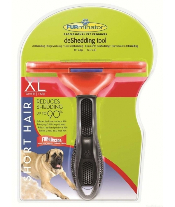 Фурминатор для собак гигантских короткошерстных пород, 13 см (SHORT HAIR GIANT DOG) 112778