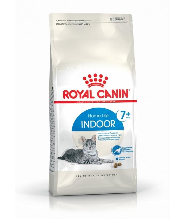 Для домашних кошек старше 7–12 лет (Indoor +7) 548015/ 548115