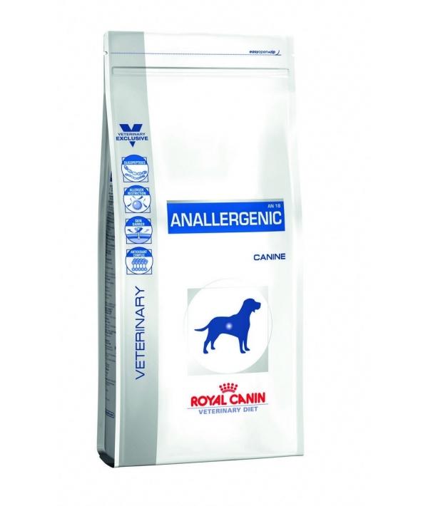Для собак при пищ.аллергии с острой непереносимостью (Anallergenic) 633030