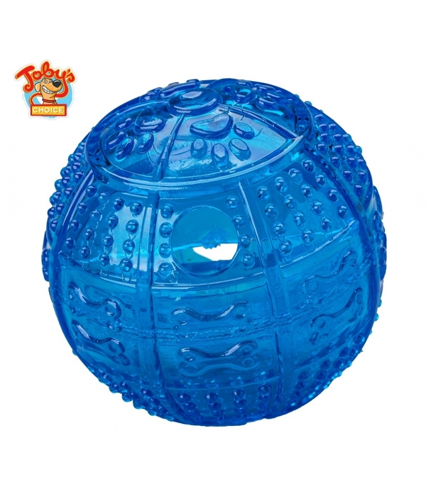 """Игрушка для собак """"Мяч для развлечения и угощения"""",8,2 см (Toby's Choice Treat ball)"""
