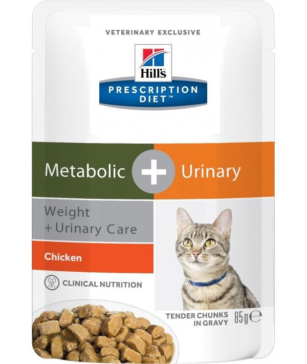 Паучи для взрослых кошек для коррекции веса и лечения мочекаменной болезни (10048U)