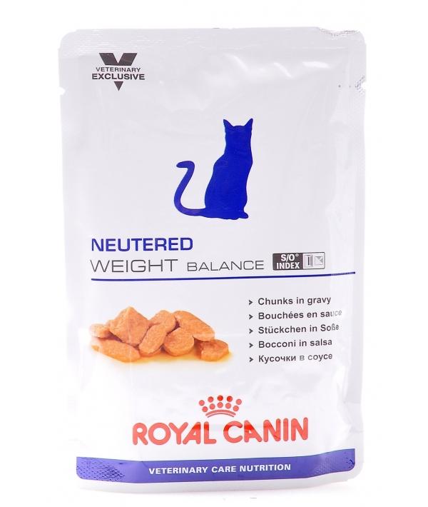 Паучи для кастрир.котов и кошек с избыточным весом: 1–7 лет (Neutered Weight Balance) 772001/ 772101