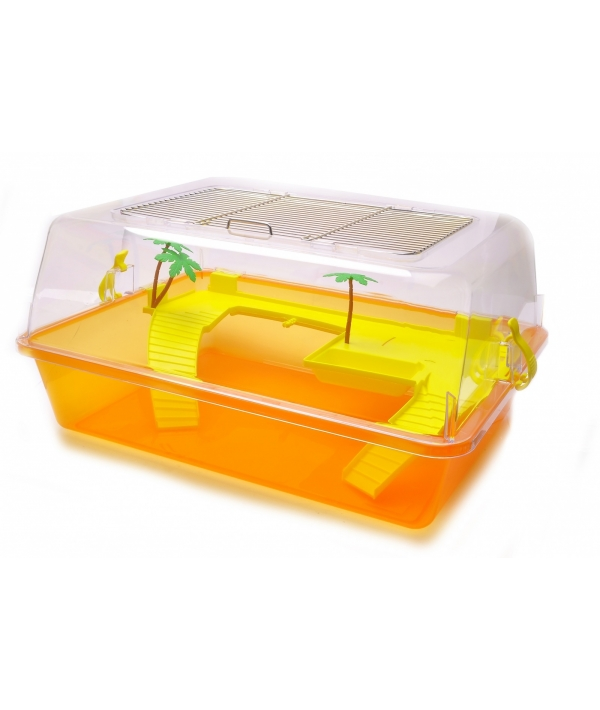 Закрытый домик для черепахи XS, 44 * 34 * 20 см (Turtle box mini) 448