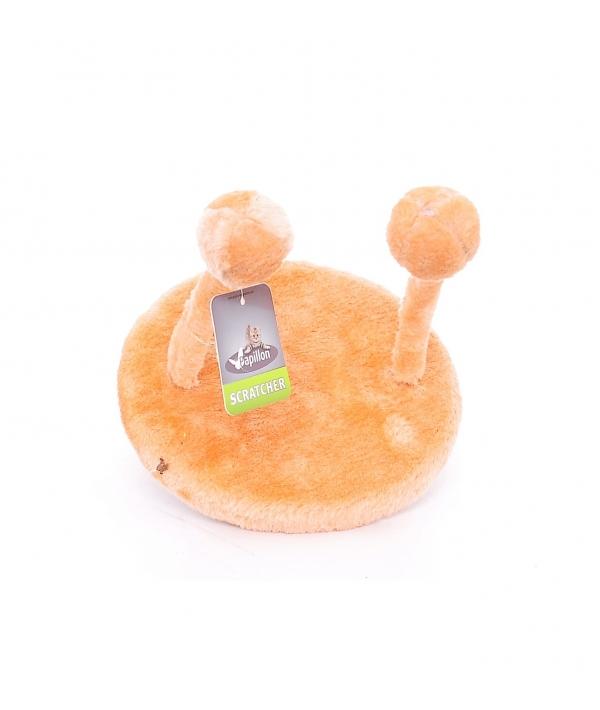 Игрушка для кошек НЛО 20х25см оранжевая, плюш / Cat toy UFO 20 x 25 cm orange 240105