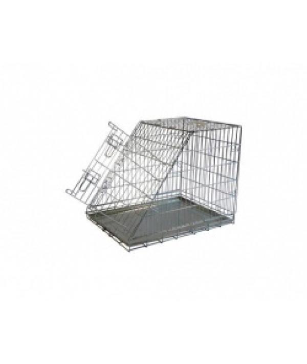Клетка металлическая с уклоном, 75*54*60см (Wire cage with slope side) 150375