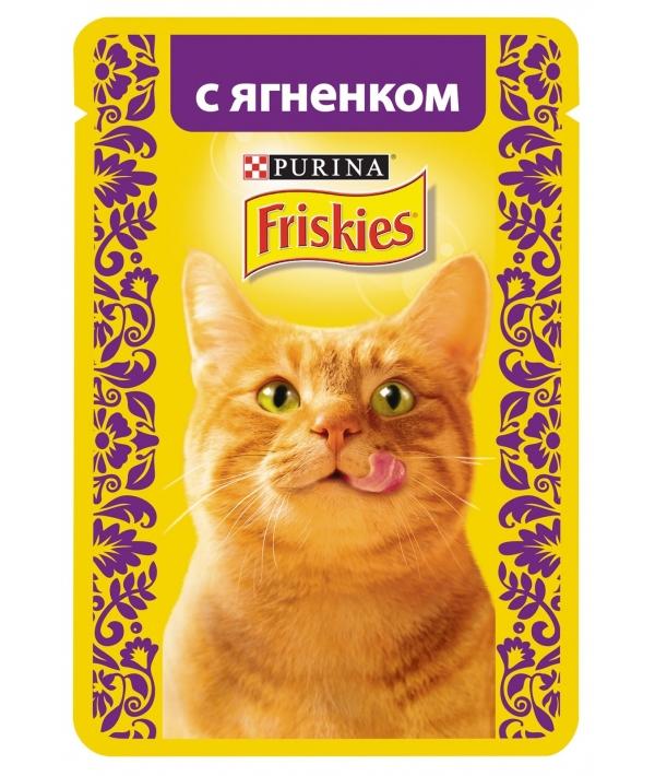 Кусочки в подливе с Ягненком для кошек 12261837