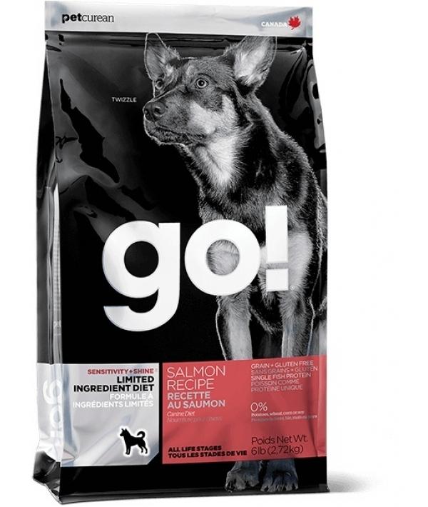 Беззерновой для щенков и собак с лососем для чувст. пищеварения (Sensitivity + Shine LID Salmon Dog Recipe, Grain Free, Potato Free)24 – 12