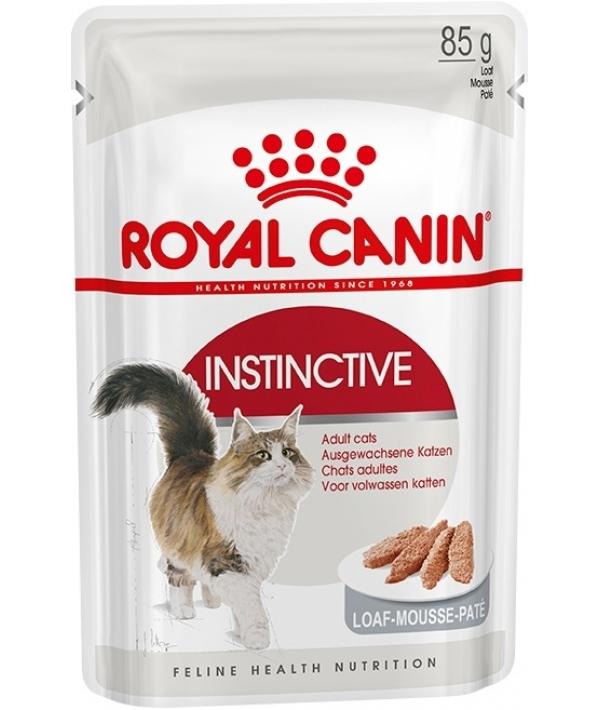 Паучи для кошек: 1–10 лет (паштет) Instinctive 483601 / Instinctive