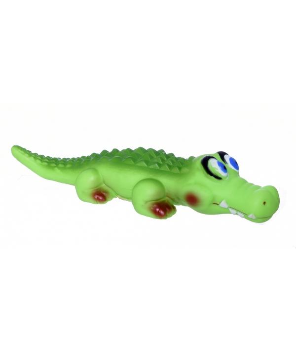 """Игрушка виниловая для собак Pet Jam """"Крокодил большой"""" 34 см (168321)"""