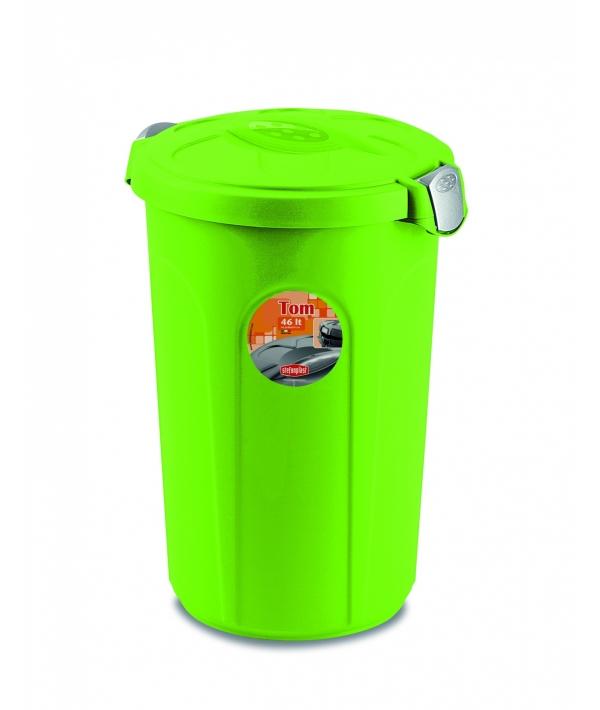 Контейнер Tom 46 л, для 16 кг корма 44,5x40x61 см, ярко зеленый (70507)