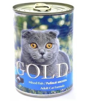 """Консервы для кошек """"Рыбный коктейль"""" (Mixed Fish)"""