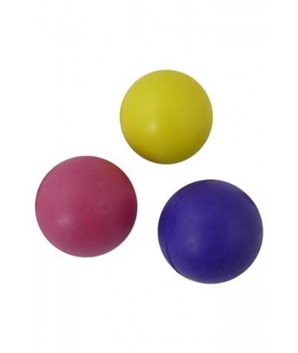 """Игрушка для собак """"Мяч"""", резина, цвет. в ассорт 8,5см (Rubber ball 8,5 cm assorted colours) 140684"""