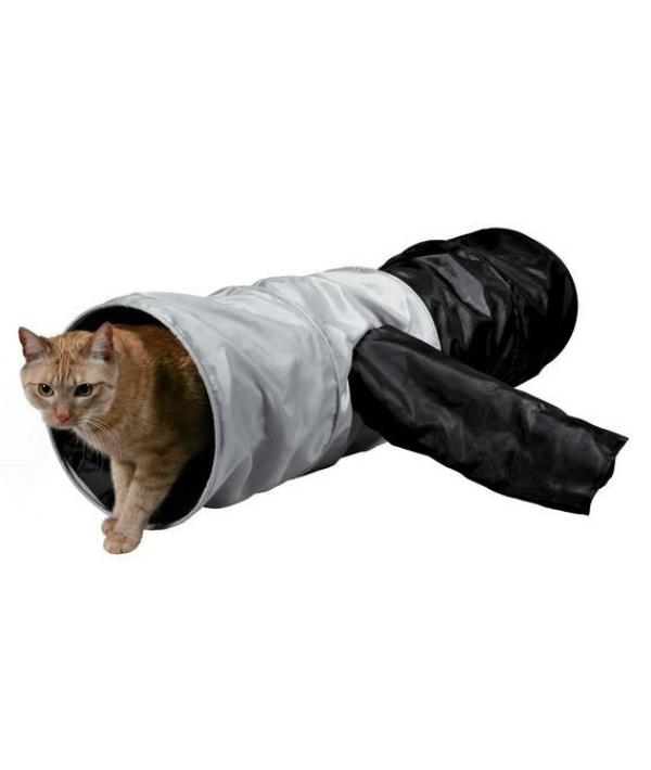Тоннель для кошки, шуршащий, 115*30см (4302)