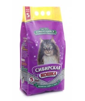 Экстра Комкующийся наполнитель для длинношерстных кошек, 5л