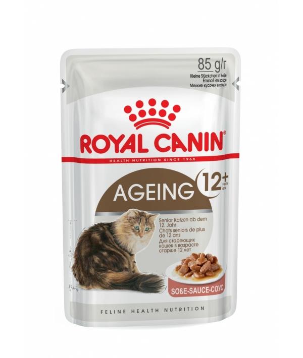 Кусочки в соусе для кошек старше 12 лет (Ageing+12) 488001