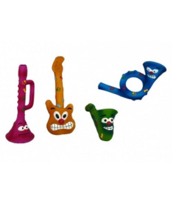 """Игрушек для собак """"Музыкальный инструмент"""", 25 – 27см, латекс (Music instruments) 140038"""