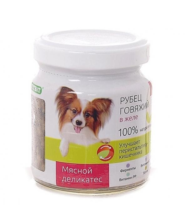 Консервы для собак Рубец говяжий в желе (003633)