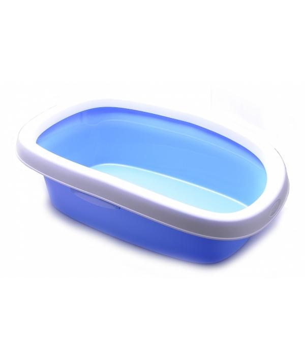 Туалет Sprint – 20 с рамкой, голубой, 39*58*17 (96558)