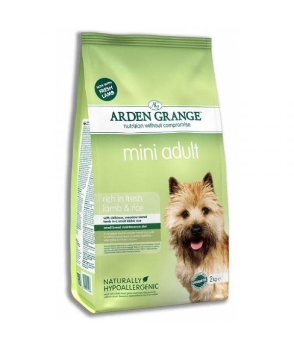 Для взрослых собак мелких пород, с ягненком и рисом (Adult Dog Lamb & Rice Mini) AG622318