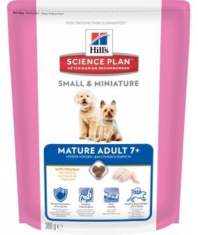 Для пожилых собак малых и миниатюрных пород с курицей (Mature Adult 7+Small&Miniature ) 2826T