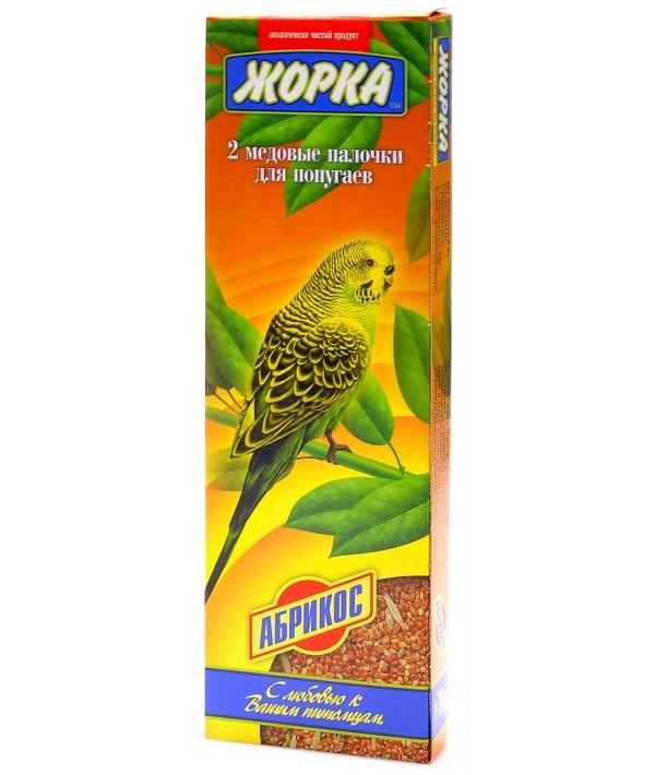 2шт. Палочки для попугаев с Абрикосами