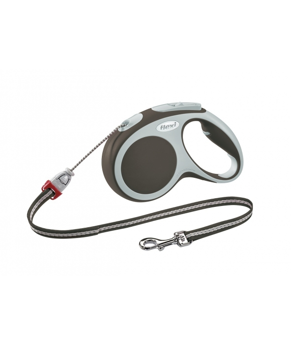 Рулетка – трос для собак до 12кг, 5м, коричневая (Vario S cord 5m brown)