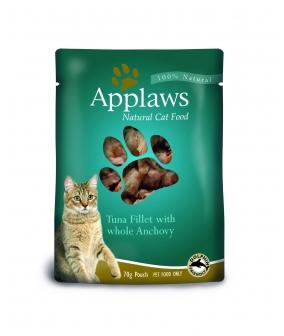 Паучи для Кошек с Тунцом и Анчоусами (Cat Tuna & Anchovy pouch) 8006