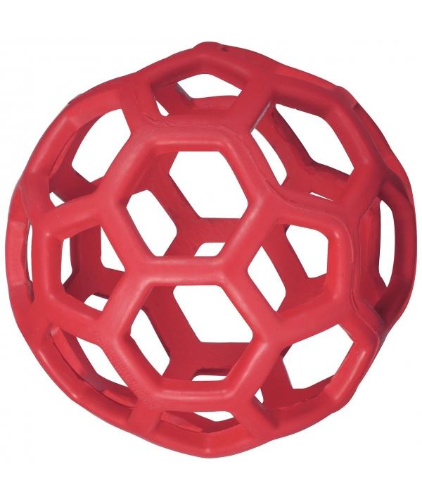 Ажурный резиновый мяч средний, 11,5 см (JW Pet HOL – EE ROLLER MEDIUM) 43111