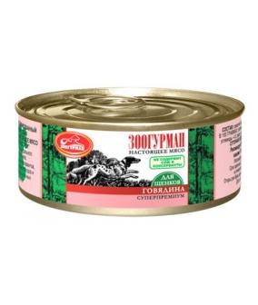 Консервы для щенков Мясное Ассорти Говядина 0751