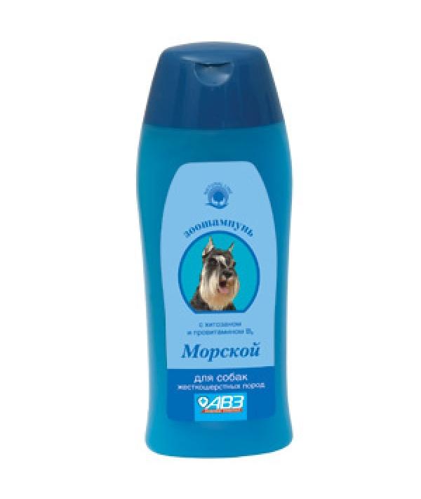 Морской шампунь для жесткошерстных собак