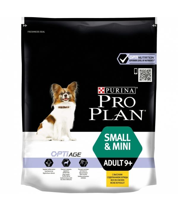 Для пожилых собак мелких и карликовых пород c курицей и рисом (Mini Adult 9+) – 12272470