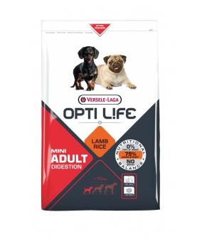 Для собак малых пород с чувствительным пищеварением с ягненком и рисом (Opti Life Adult Digestion Mini) 431135