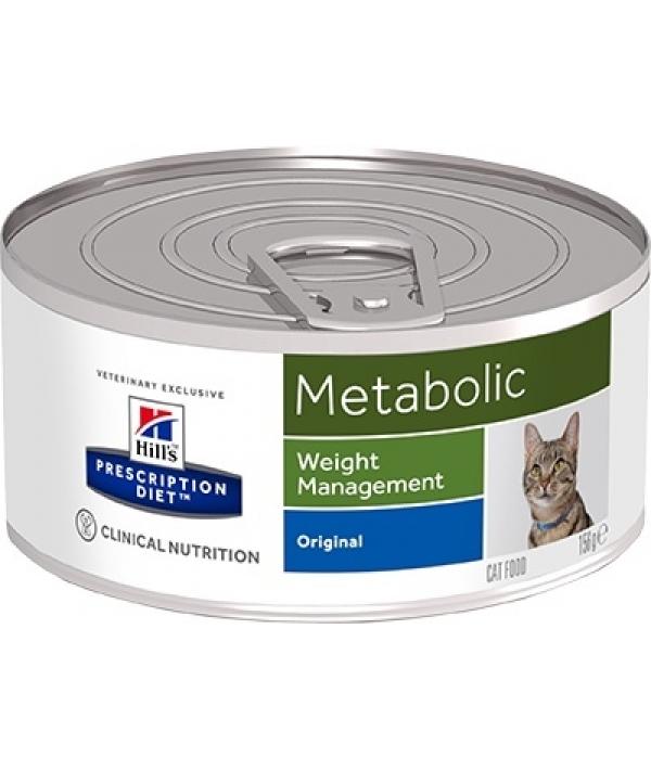 Консервы для улучшения метаболизма (коррекции веса) у кошек (Feline Metabolic ) 2102F