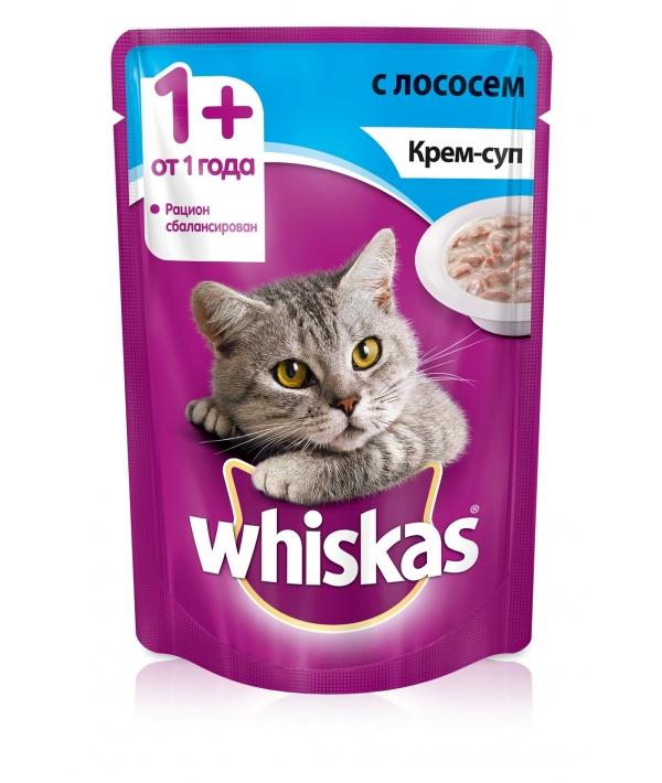 Паучи для кошек Крем – суп с лососем 10151095