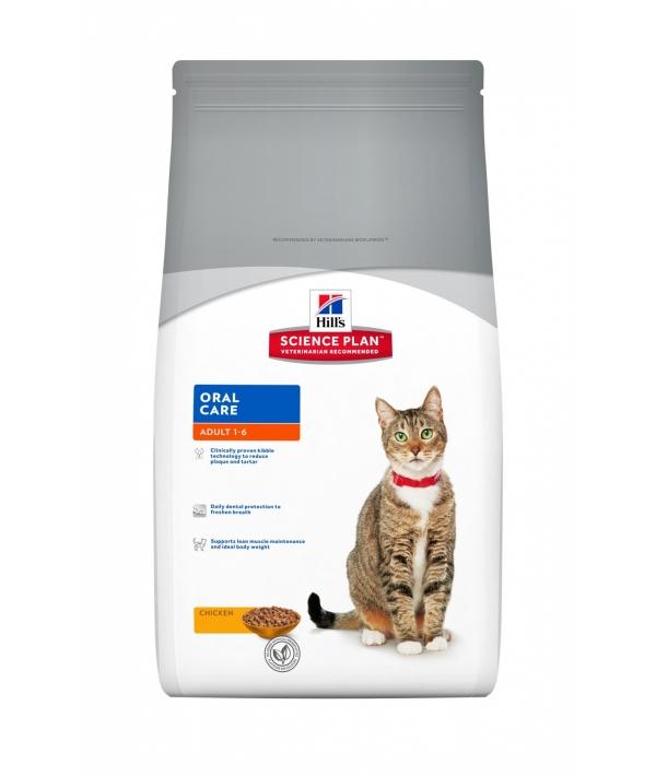 Для кошек уход за полостью рта индейка и курица (Oral Care) 7522EA / 603589