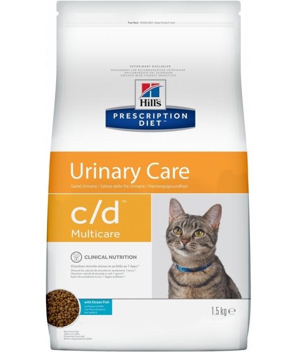 C/D для кошек – профилактика мочекам. болезни (МКБ): океан. рыба – 9184U