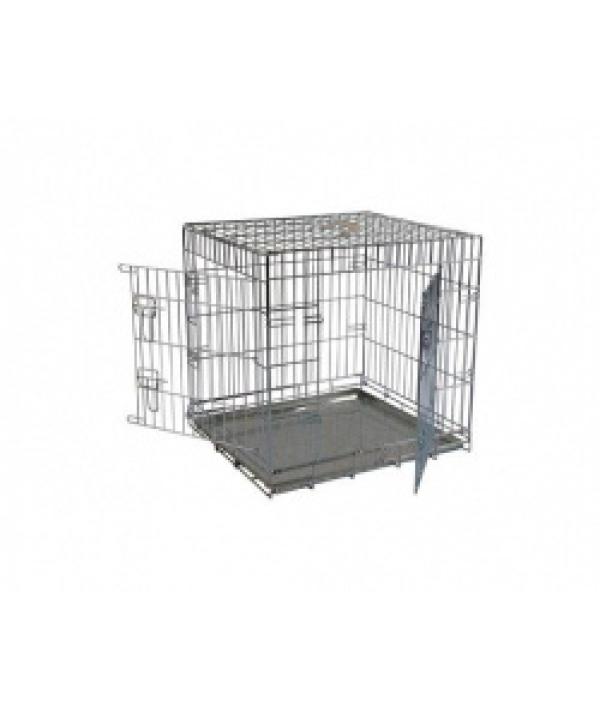 Клетка металлическая с 2 дверками, 76*54*61см (Wire cage 2 doors) 150276