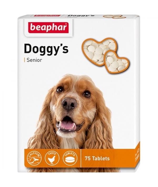 Витамины для пожилых собак (Senior Doggy's), 75шт. (11519)