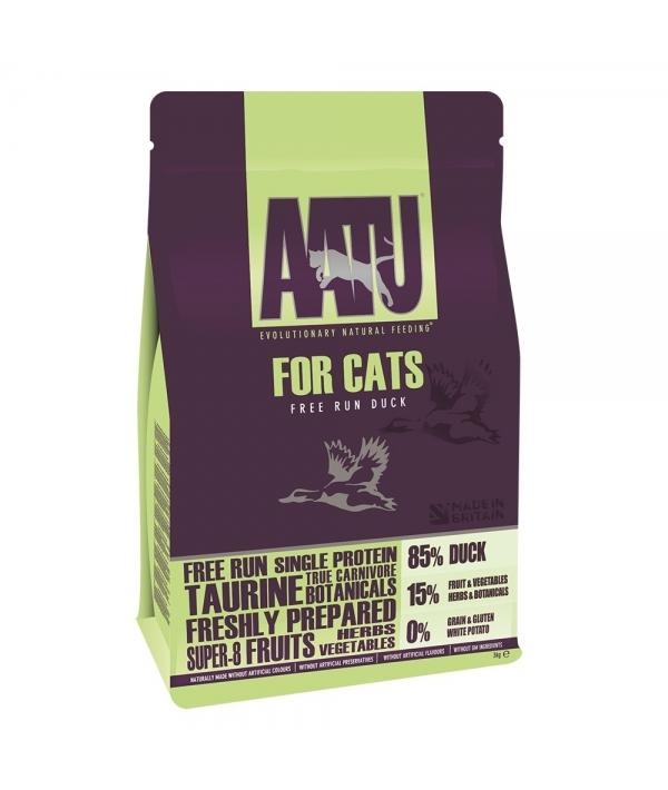 Корм для кошек Утка 85/15 (AATU CAT DUCK) ADCAT200