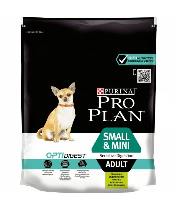 Для взрослых собак малых пород с чувствительным пищеварением с ягненком (Sensitive Digestion) 12278061