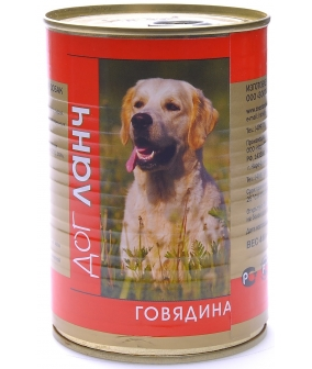 Консервы для собак Говядина (28999/60961)