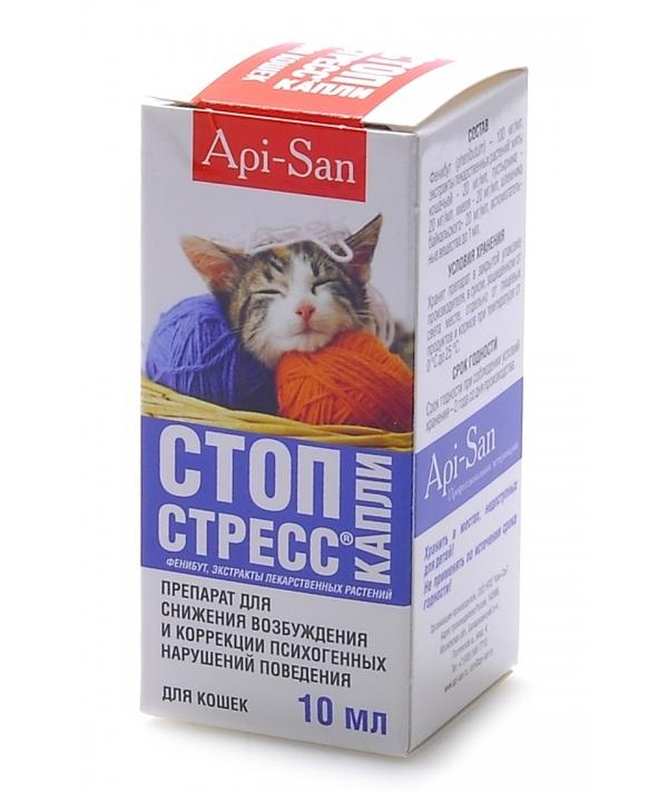 Стоп – Стресс капли для кошек