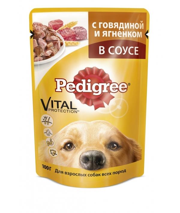 Паучи для собак с говядиной и ягненком 10117304