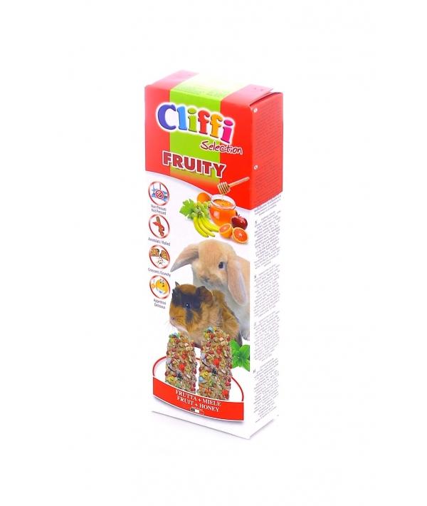 Лакомства для Морских свинок и Кроликов: палочки с фруктами и медом (Sticks for rabbits and guinea pigs honey and fruit, Fruity SELECTION) PCRA253