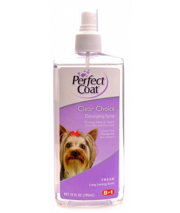 Спрей – легкое расчесывание шерсти собак (PC Clear Choice Detangling Grooming Spray), ei603